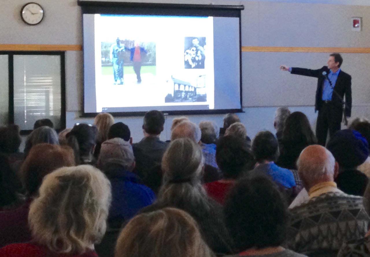 Brad Borkan presenting in Princeton NJ