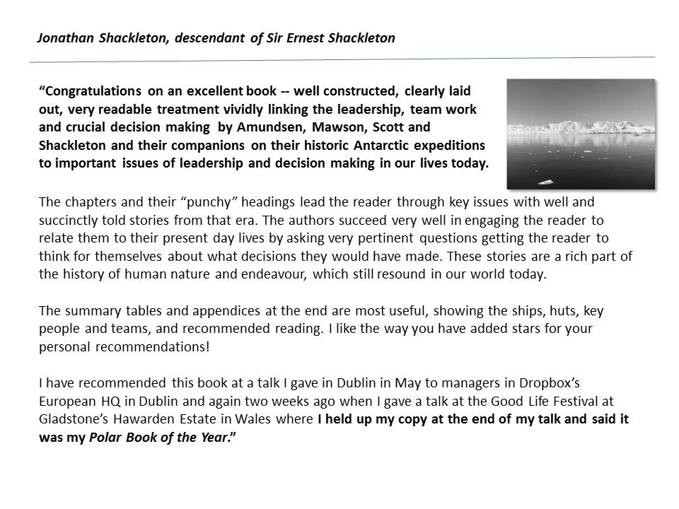 Jonathan Shackleton testimonial