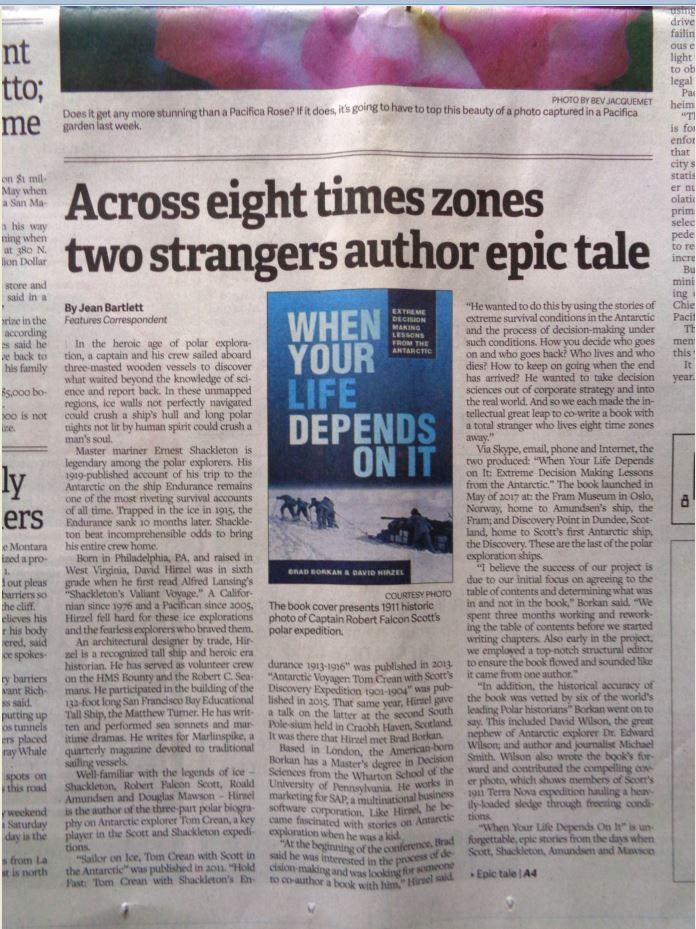 Pacifica Tribune Article pg 1